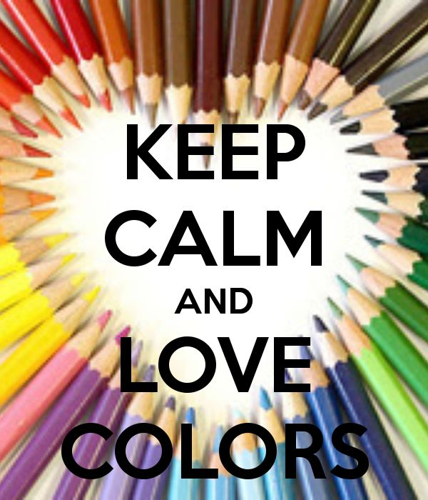 KEEP CALM AND LOVE COLORS - KEEP CALM AND CARRY ON Image Generator