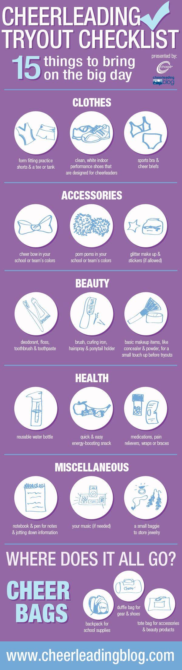 Cheerleading Infograph