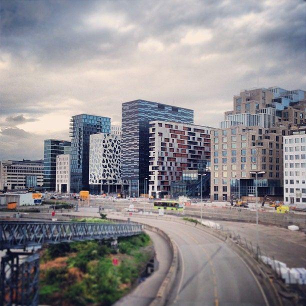 #barcode #bjørvika #oslo #norway #darkarkitekter