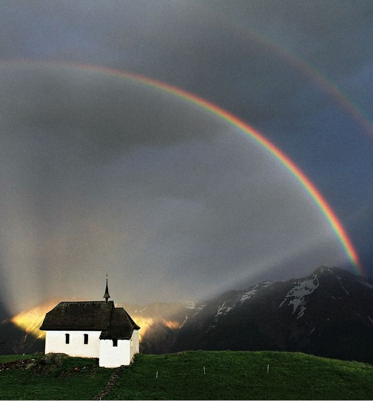 Best Small Country Churches Images On Pinterest Abandoned - 17 breathtaking photos of rare double rainbows
