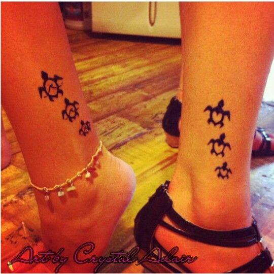Turtle Henna Tattoo: Best Friend Hennas!! Baby Turtle Henna Tattoos In Kihei