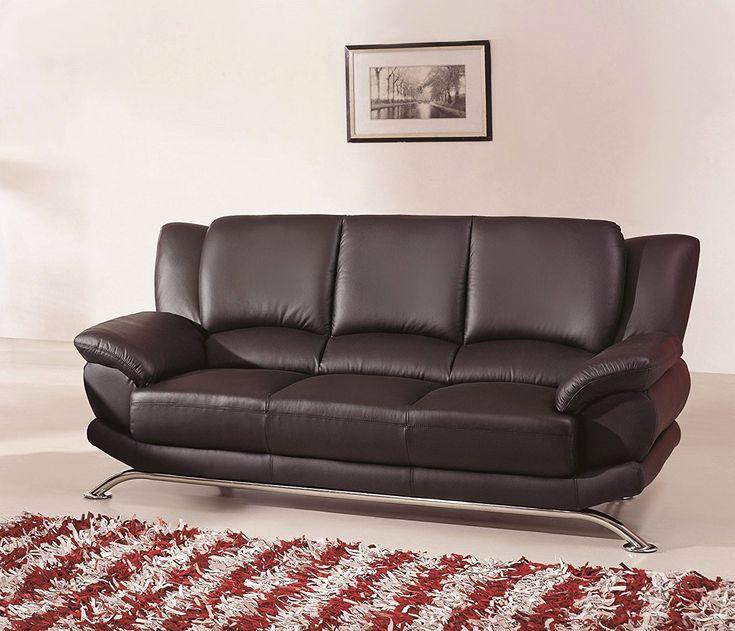 Lovely Black Contemporary sofa Image Black Contemporary sofa Unique Modern Line Furniture 9908bs Contemporary Leather sofa
