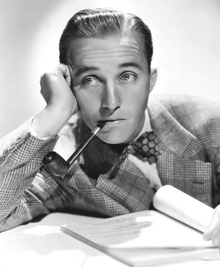 Image detail for -Bing Crosby, Ca. 1940s Photograph by Everett - Bing Crosby, Ca. 1940s ...