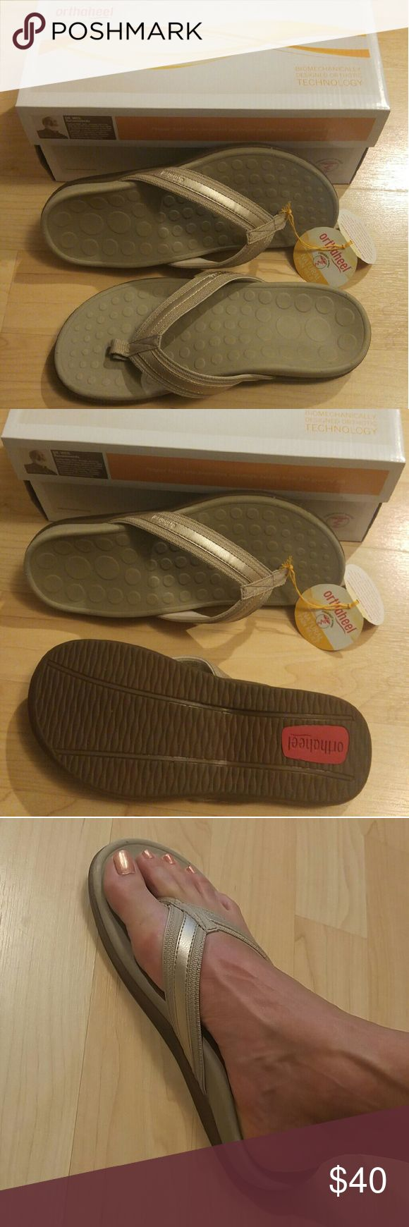 Orthoheel Orthotic Flip Flops With high arch support Shoes Sandals