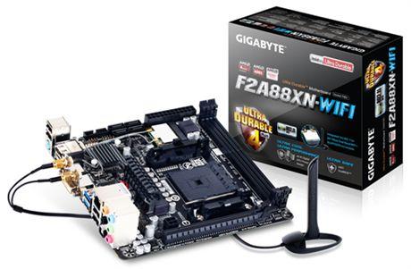 Placa Mini ITX F2A88XN-WIFI Socket FM2