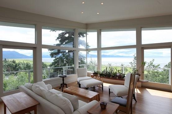Yes please!  Alaskan view.