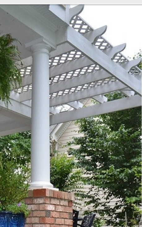 I Love This Idea Lattice Top Pergola Backyard Redo