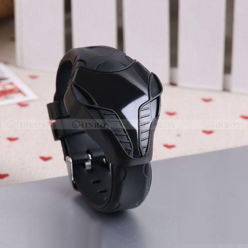 Fashion-LED-Digital-Watch-Unisex-Sport-Triangle-Dial-Silicone-Wrist-watches