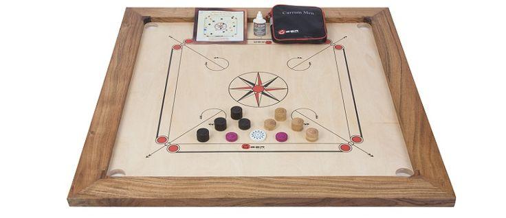 Tournament Carrom Set