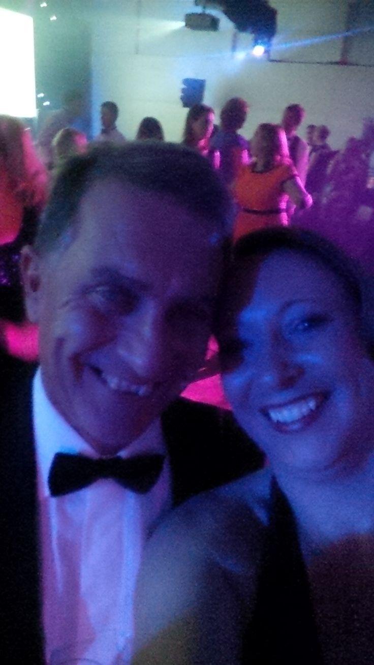 Garry Richardson et moi