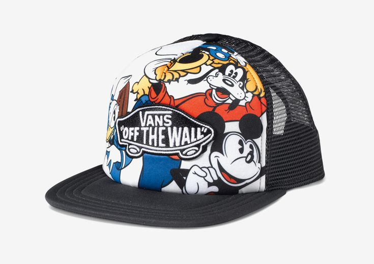 Vans x Disney – kšiltovka Vans of the Wall, Mickey Mouse, Goofy  #vans #disney #youngatheart #cap #snapback #mickey #goofy