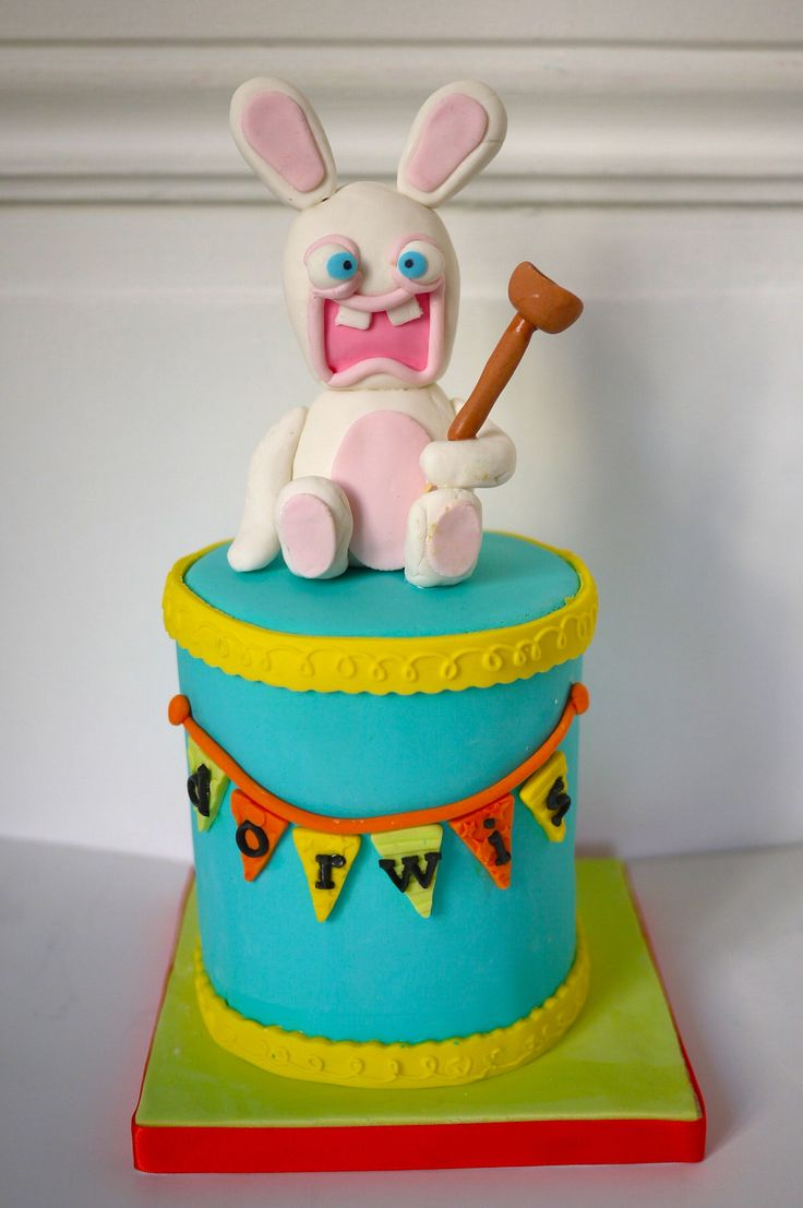 Rabbids Cake by Frida Gato