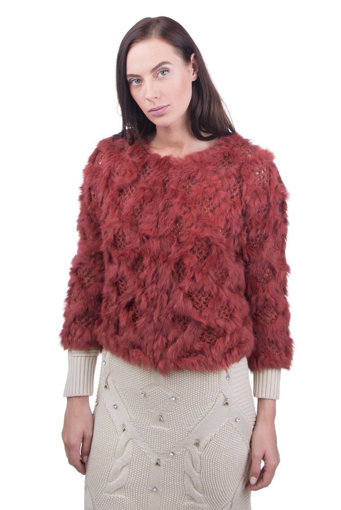 9908e2dbb3d PINKO Rabbit Fur Cardigan Size M Wool Blend 3/4 Sleeve Hook Front RRP 311 # fashion #clothing #shoes #accessories #womensclothing #sweaters (ebay link)