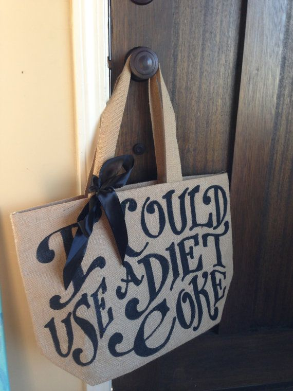 @Lindsay Dillon Smith ...saw this and thought of you! Mine would say I could use a diet barqs - Beach Bag - Grocery Tote