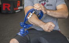 Relieve the pain of Tendonitis and Repetitive Strain Injuries in your own forearm, wrist, hand, elbow, biceps & triceps. Get the Armaid at Rogue Fitness.