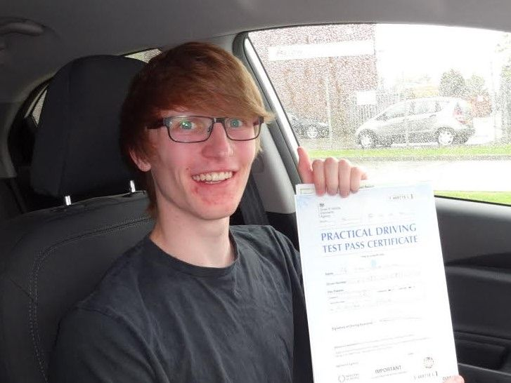 Congratulations to Ryan Hirons for passing his driving test at the FIRST attempt on the 25th of May 2016. Best wishes for the future from Driving Instructor Alan Hardy and the Team at Elite Driving School.