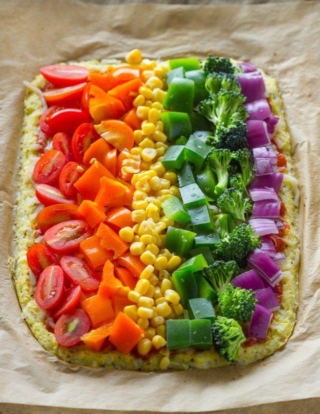 Regenbogen-Torte, Regenbogen-Waffeln, Regenbogen-Smoothies ...