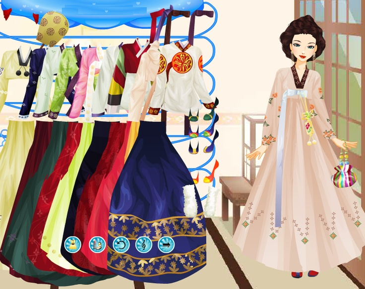 Asian fashion dress up games
