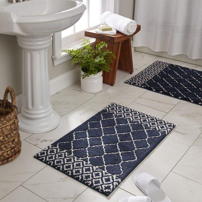 Canora Grey Shadle Bath Rug Reviews Wayfair Bath Rug Modern Bath Rugs Bathroom Rugs