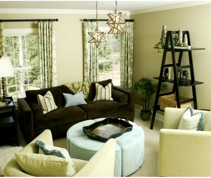 Brown And Yellow Bedroom Ideas: Brown Blue And Yellow Living Room Ideas