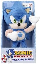 "Sonic The Hedgehog 10"""" Plush With Sound Effects"