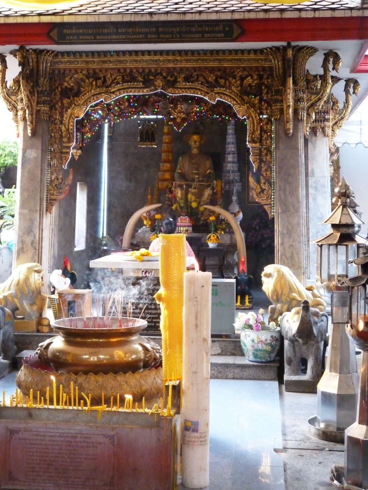 Wat Chana Songhram - hidden away in old Bangkok, Khao San