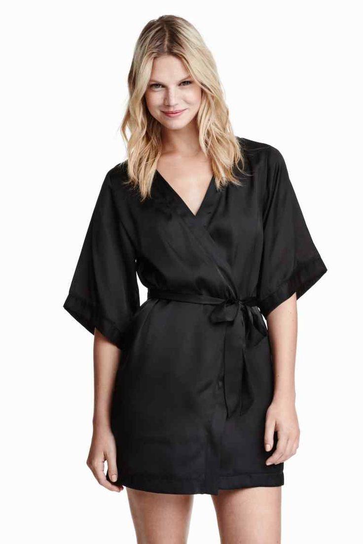 Kimono de satén   H&M