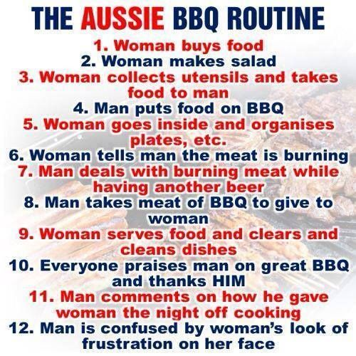 We  love thisBBQ meme we found circling the web this Summer! #australia #day we love #BBQ's