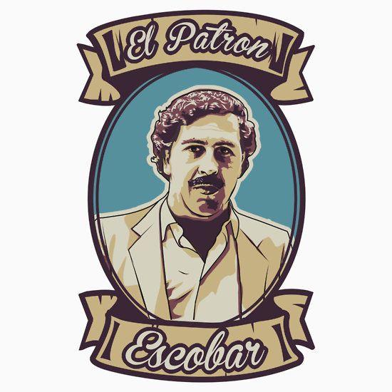 Pablo Escobar - El Patron #narcos #tshirt