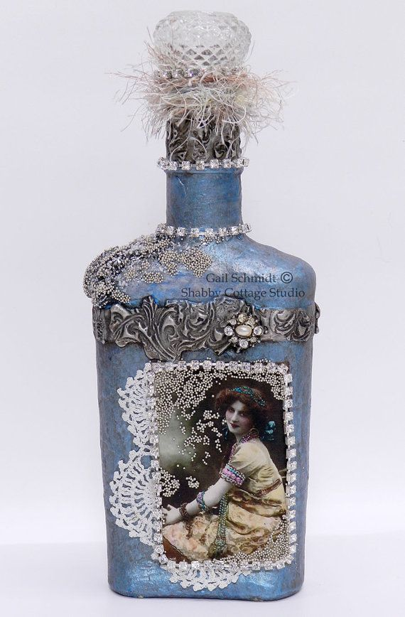 688 Best Ideas About Altered Bottles Spoons On Pinterest Decorative B