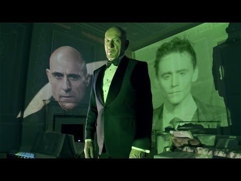 "Tom Hiddleston and Ben Kingsley in Jaguar's ""British Villains Rendezvous"" 