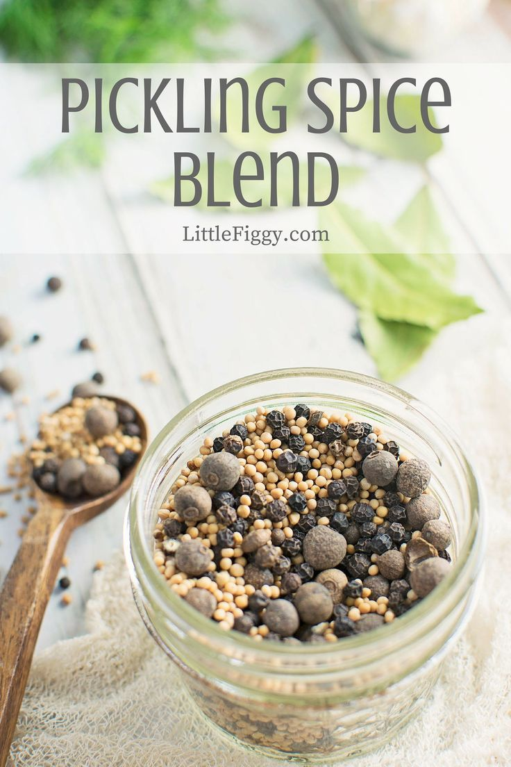 This Pickling Spice is a great blend for all of those tasty pickled onions, okra and dill pickles you are going to make! Find the recipe @LittleFiggyFood