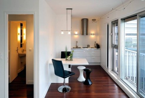 Furniture, Small Wall Mounted Foldable Dining Table Design Ideas ~ Folding Dining Tables for Both Stylish and Functional Furniture