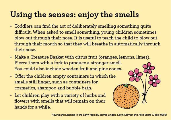 Teacher Tips and Tricks – Using the senses