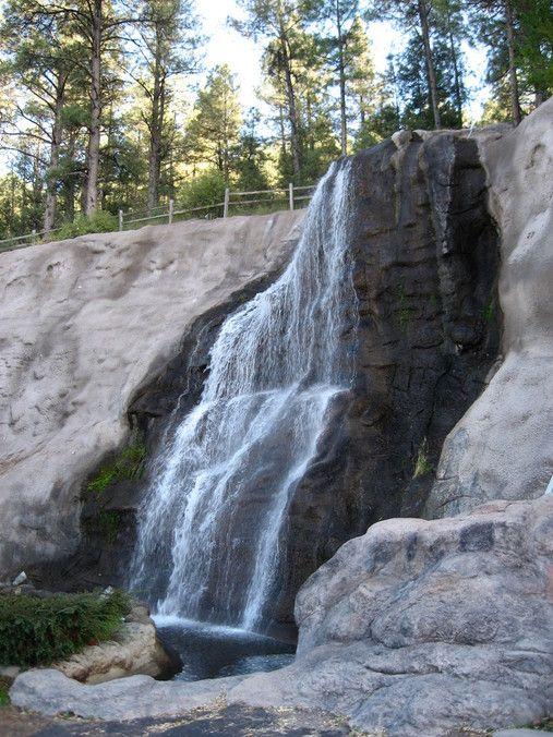 ruidoso+nm | Ruidoso, NM : Waterfall at Cattle Baron Restaurant in Ruidoso photo ...
