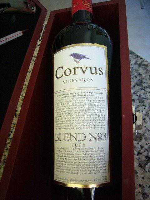 Corvus Blend No3 2006