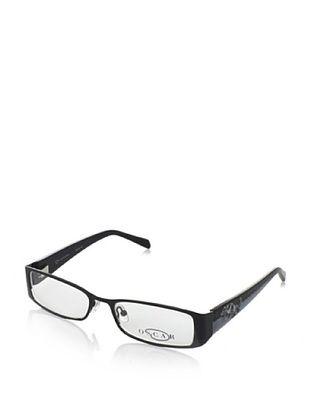 Oscar by Oscar De La Renta Women's OSL342 Eyeglasses, Shiny Black