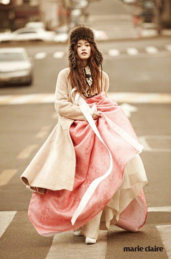 Hanbok + Coat