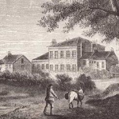 Nelitza - Quakers occupational therapy history  This website talks about an institution that was first founded in England, named the Retreat. It was different from any other institution at the time because it treated their patients with empathy and respect and not locking them up.