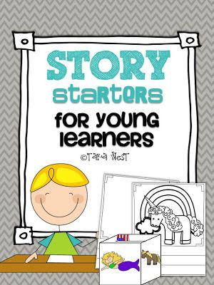 Story starters {cubes and writing templates included} Limited time offer FREEBIE!