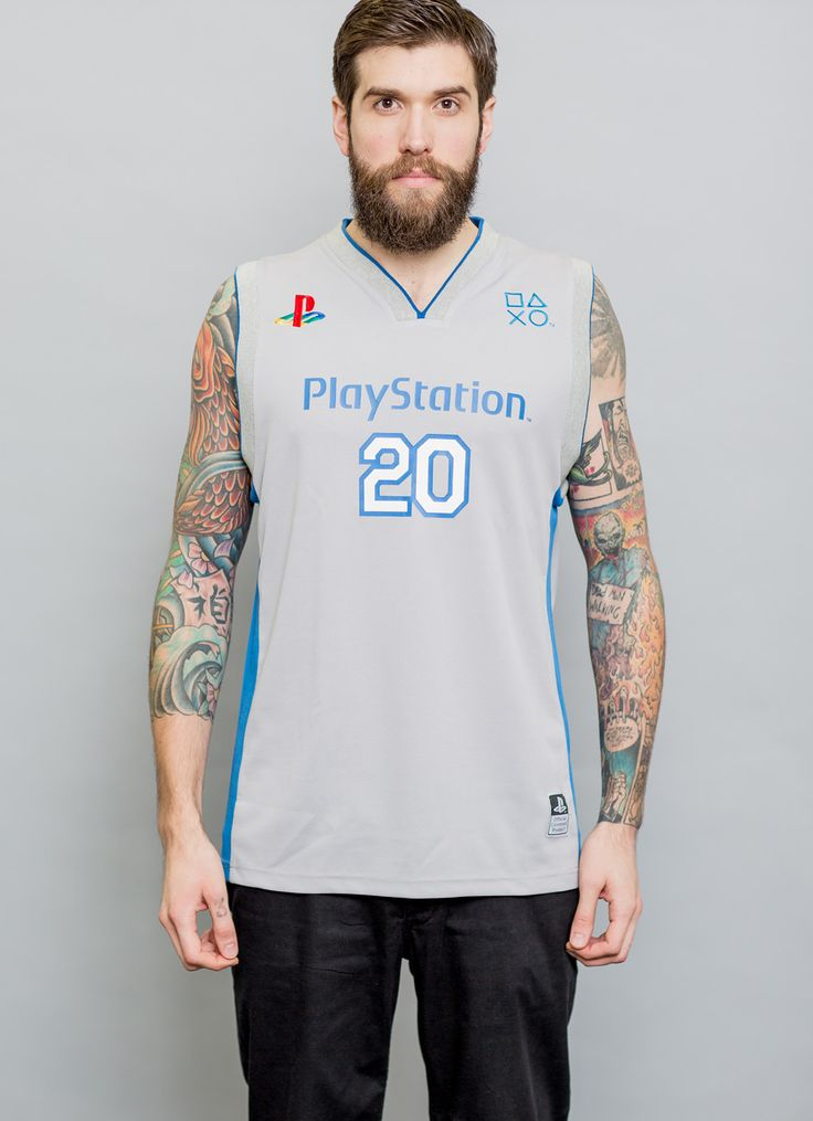 Playstation Basketball Jersey || Insert Coin Clothing