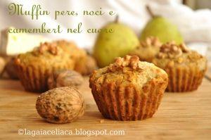 #muffin #pere #noci  http://www.glutenfreetravelandliving.it/gffd-ricette/