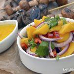 Csípős mangósaláta