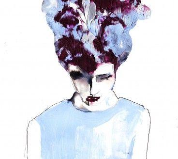 Bespoke fashion illustration for Volt