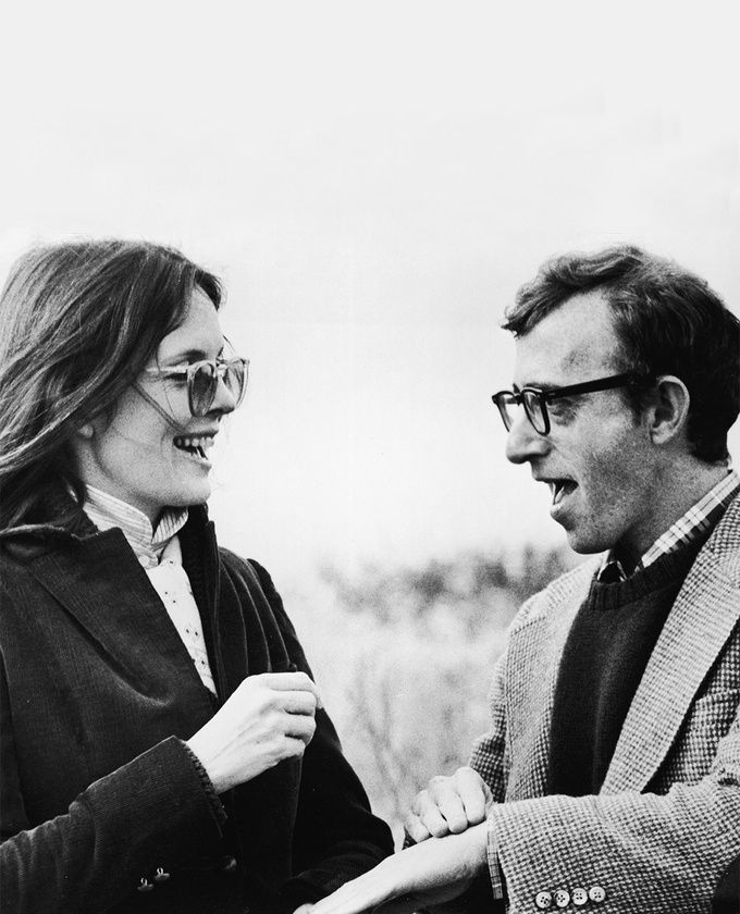 CLASSIC GEMS ~~ One of the best film duos in film history -- Diane Keaton, Woody Allen