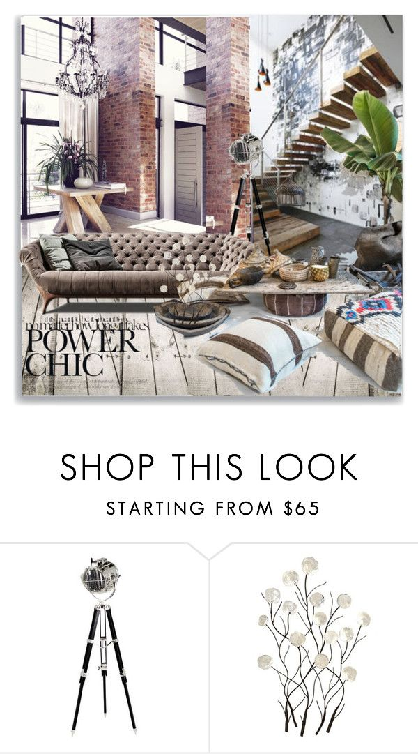 """""""Untitled #1338"""" by maja-k ❤ liked on Polyvore featuring interior, interiors, interior design, home, home decor, interior decorating, Universal Lighting and Decor, Home and decor"""