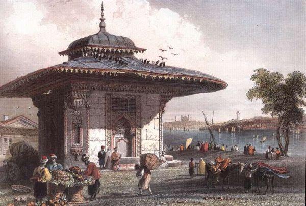 Gravür - Osmanlı.