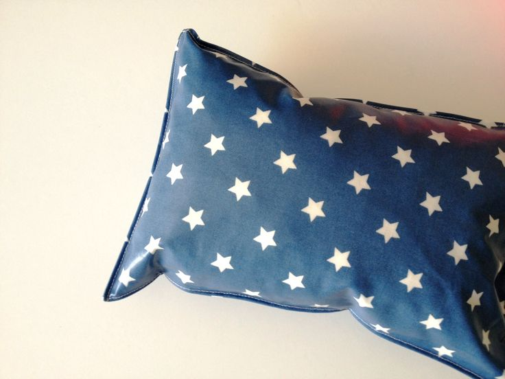 Oilcloth beach pillow 20x30cm by SALACO Craft