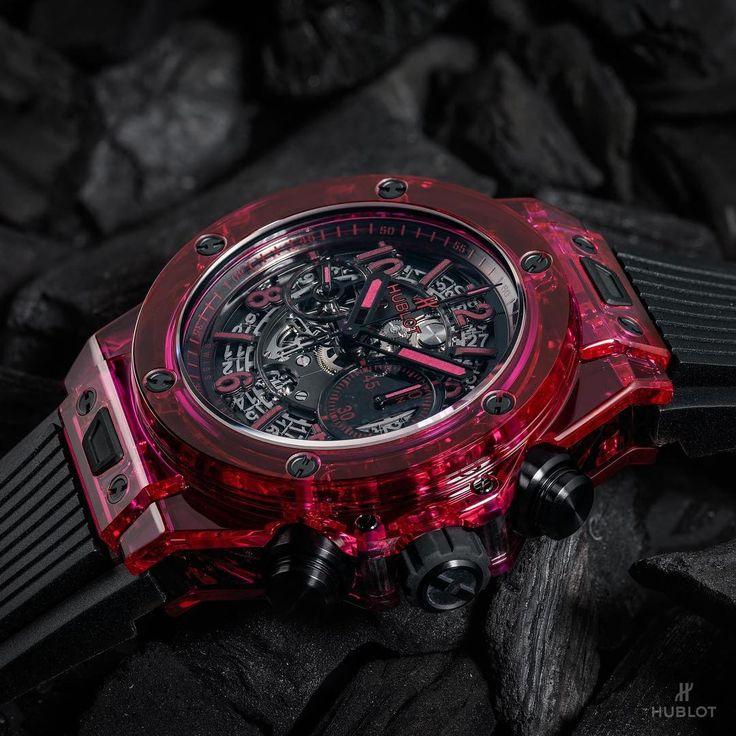 NEW Hublot BigBang Unico Sapphire Red.