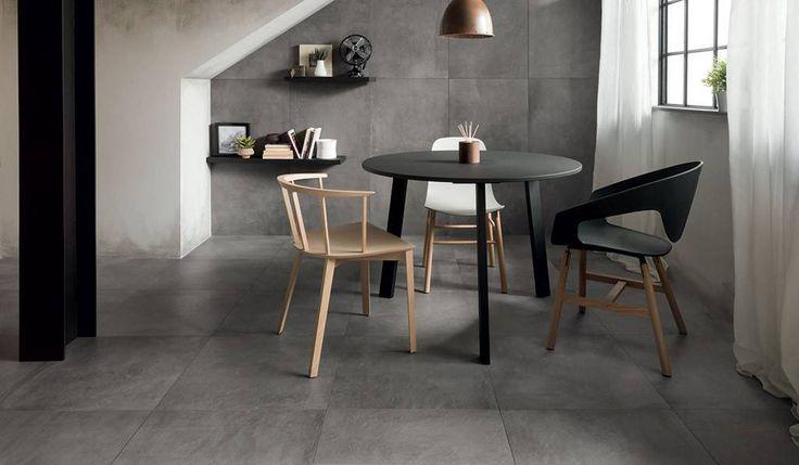 #Caesar #Wide Steel 45x45 cm ACNS | #Gres #cemento #45x45 | su #casaebagno.it a 20 Euro/mq | #piastrelle #ceramica #pavimento #rivestimento #bagno #cucina #esterno